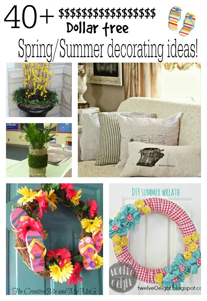 Seasonal Decorating With Dollar Tree Decor And More Dollar Store
