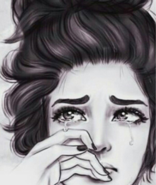 Broken Desenho De Menina Desenhos De Pessoas Tristes Desenhos