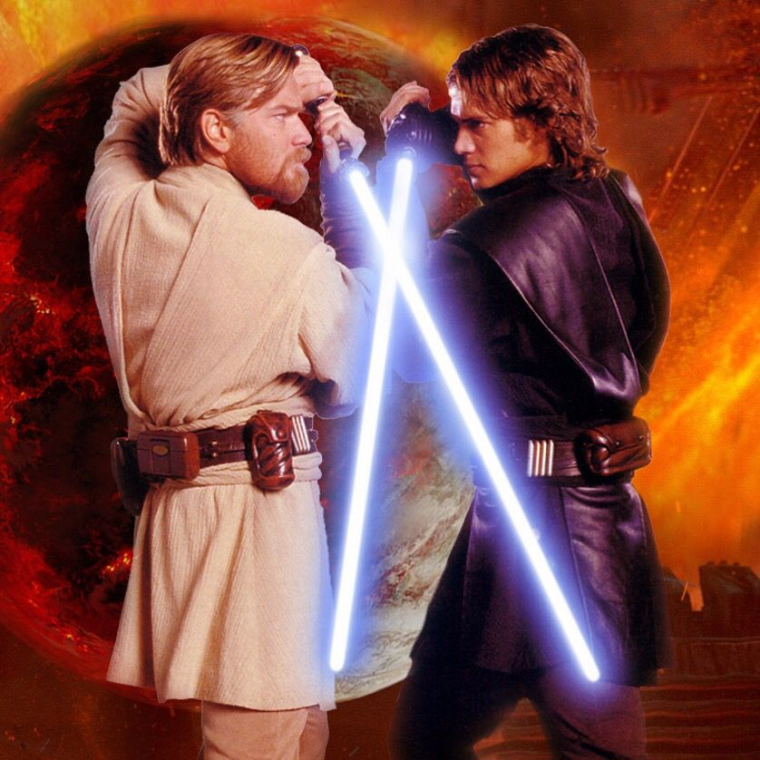 Obi-Wan Kenobi Vs Anakin Skywalker IPad Wallpaper | Star wars, Star wars  anakin, Star wars movie