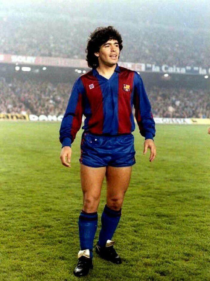 ff5a41e89 Diego Maradona of Barcelona in 1983. .