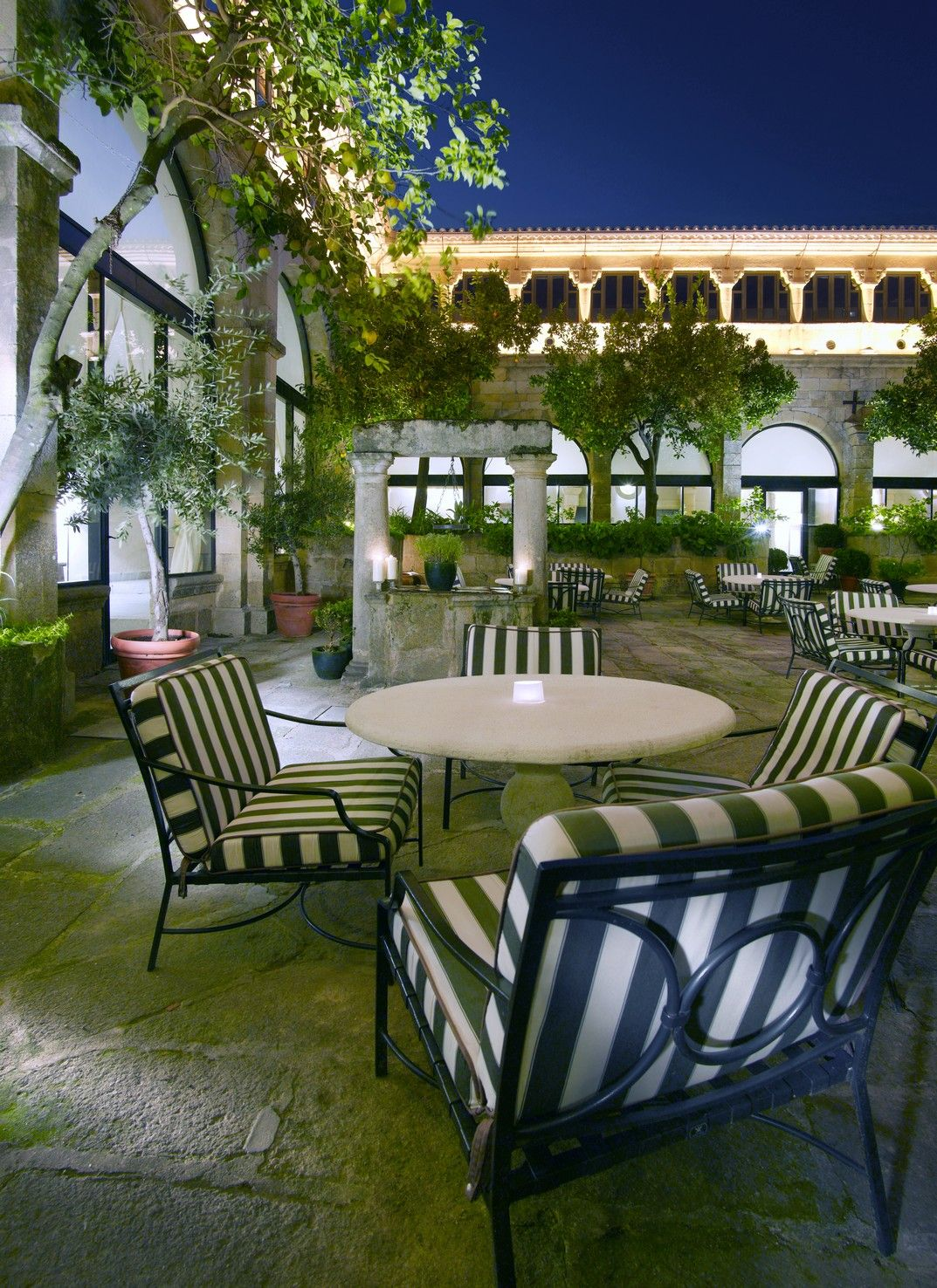 #terraza #patio #exterior En El #parador De #trujillo #
