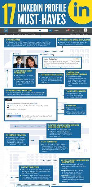 17 LinkedIn Profile Must-Haves