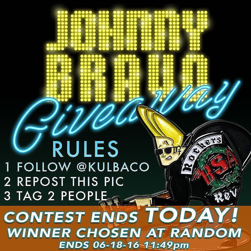 #Repost @kulbaco  Last day for a chance to win this super cool Johnny Bravo pin! Just follow @Kulbaco Repost this pic  Tag at least 2 people Contest ends midnight tonight. . . .. #kulbaco #johnnybravo #hatpin #hatpins #lapelpin #lapelpins #pin #pins #pincollection #pinlife #pingame #cartoon #wearableart #rockabilly #patch #patches #patchgame #merch
