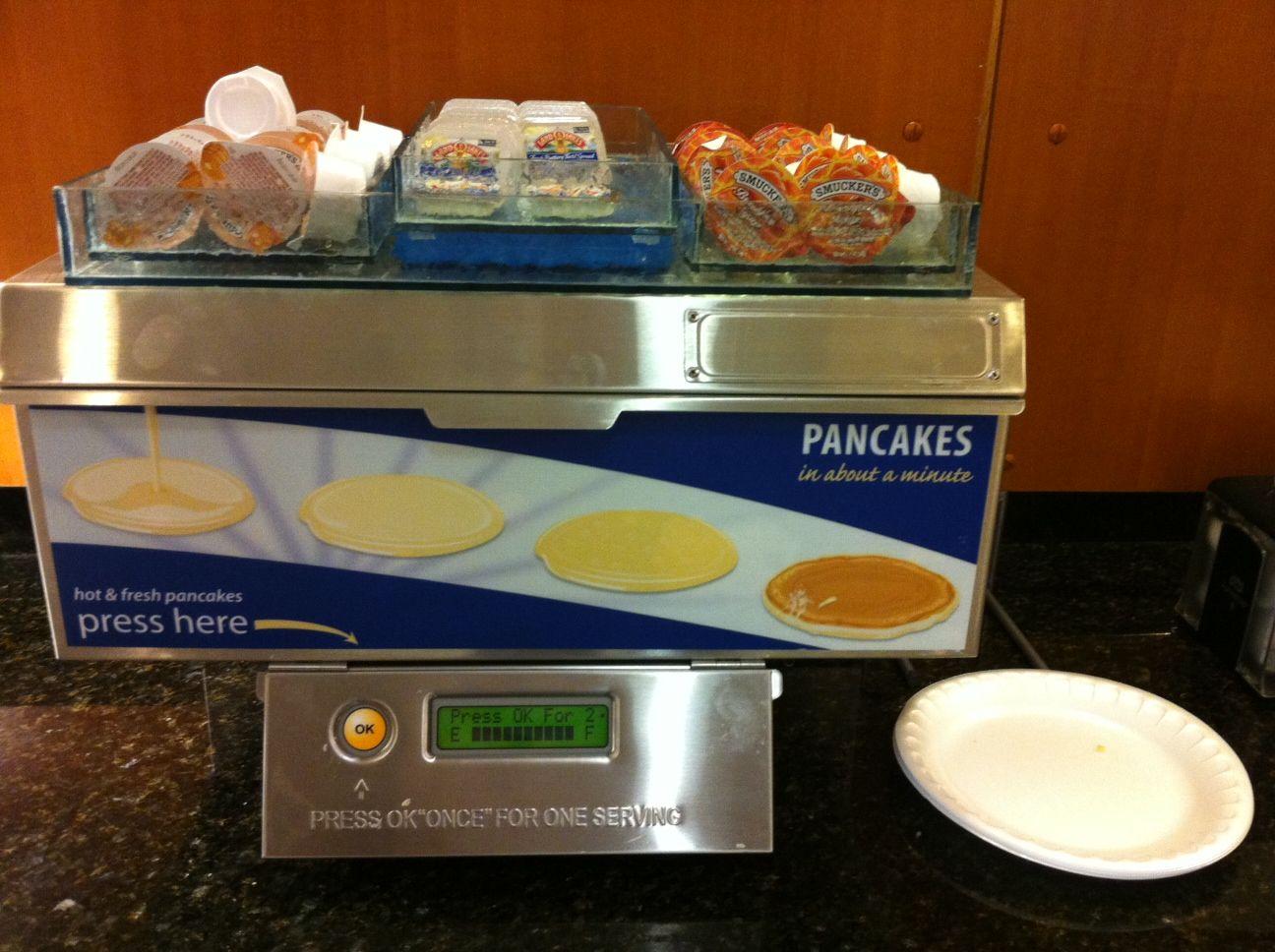 Pancake machine.