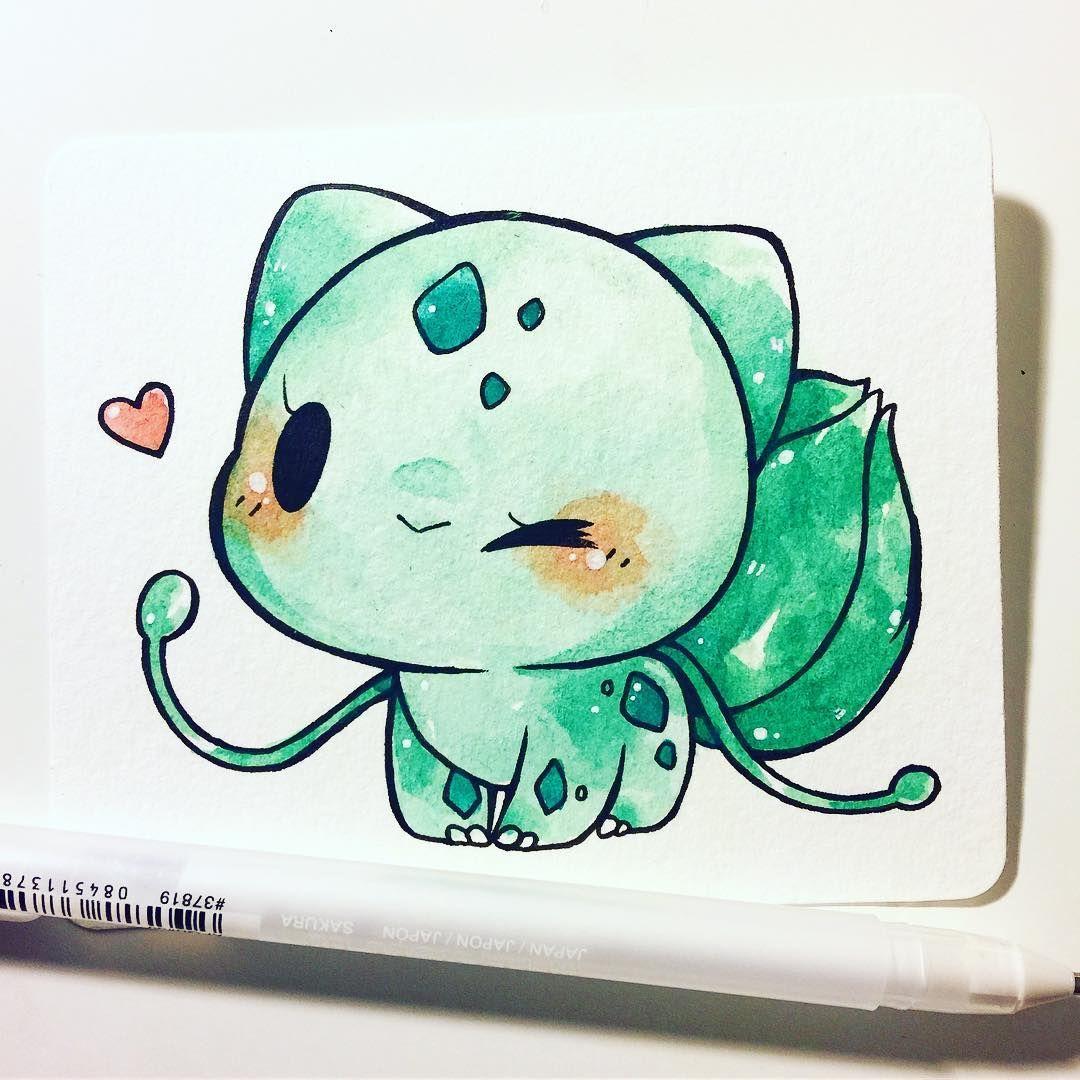 pokemon commission info in bio 💕 this one's for christa! c: #bulbasaur #pokemon