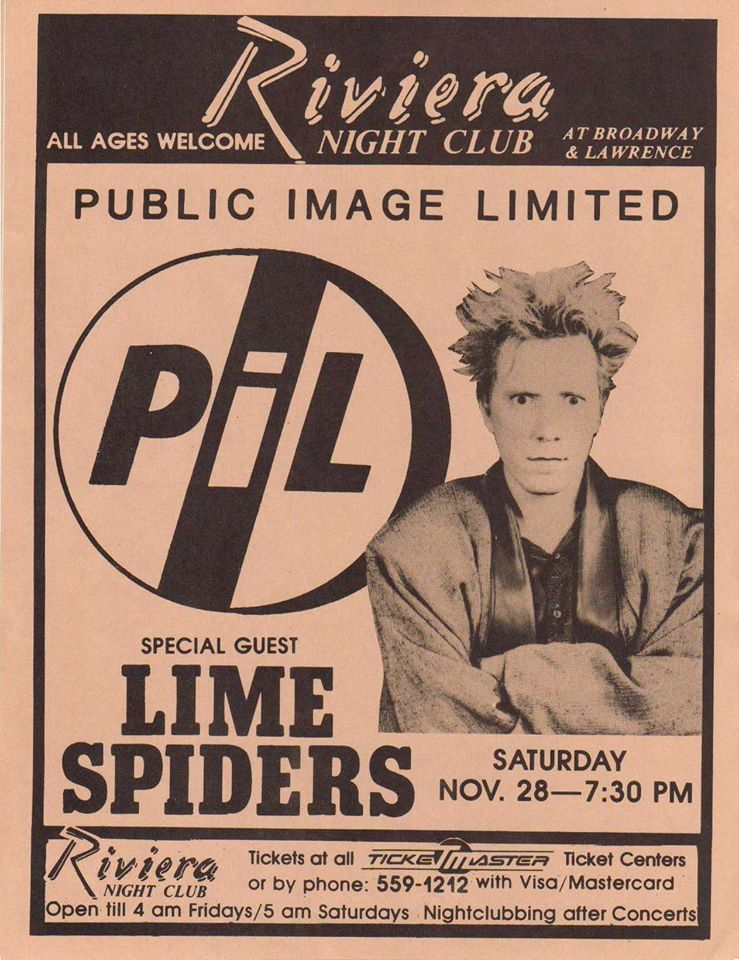 Public Image Limited, with special guest Lime Spiders