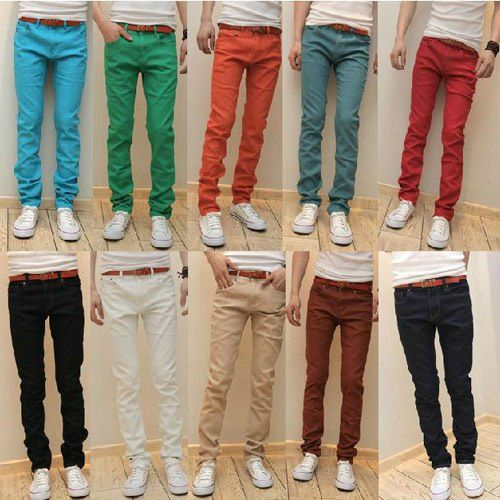Images of Red Skinny Jeans For Men - Reikian