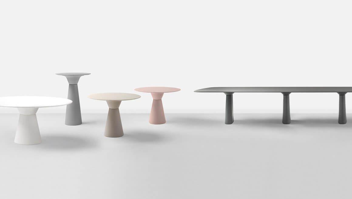 Table De Reunion Ronde Design Grand Format De 8 A 10 Personnes En 2020 Table De Reunion Table Design Table