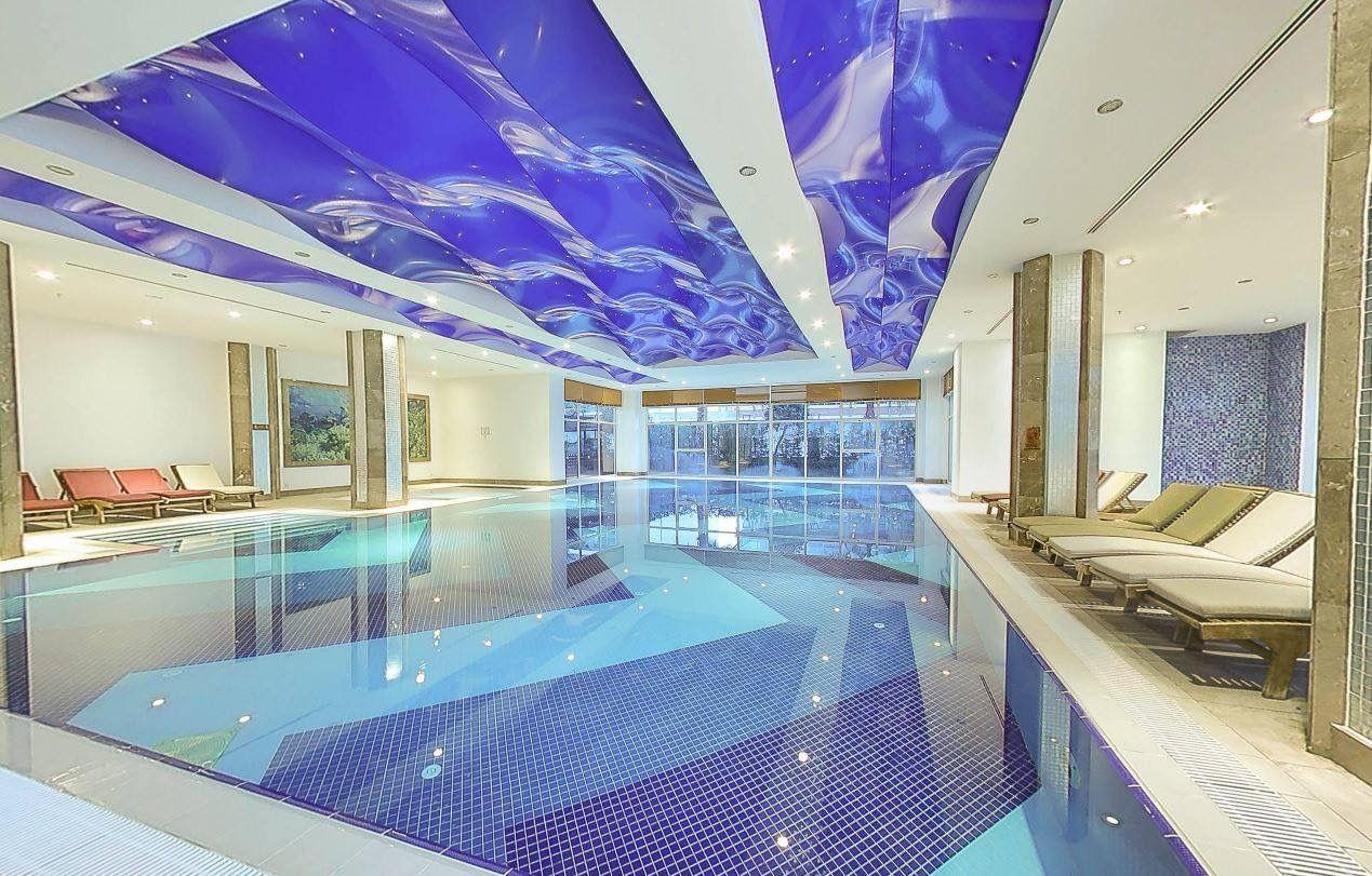 The Indoor Pool At The 5 Star Crystal Waterworld Resort And Spa In Belek Antalya Turkey Indoor Swimming Pools Indoor Pool Indoor Swimming