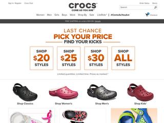 crocs coupon code free shipping