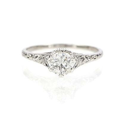 Vintage Engagement Rings On A Budget Cheap But Elegant Engagement