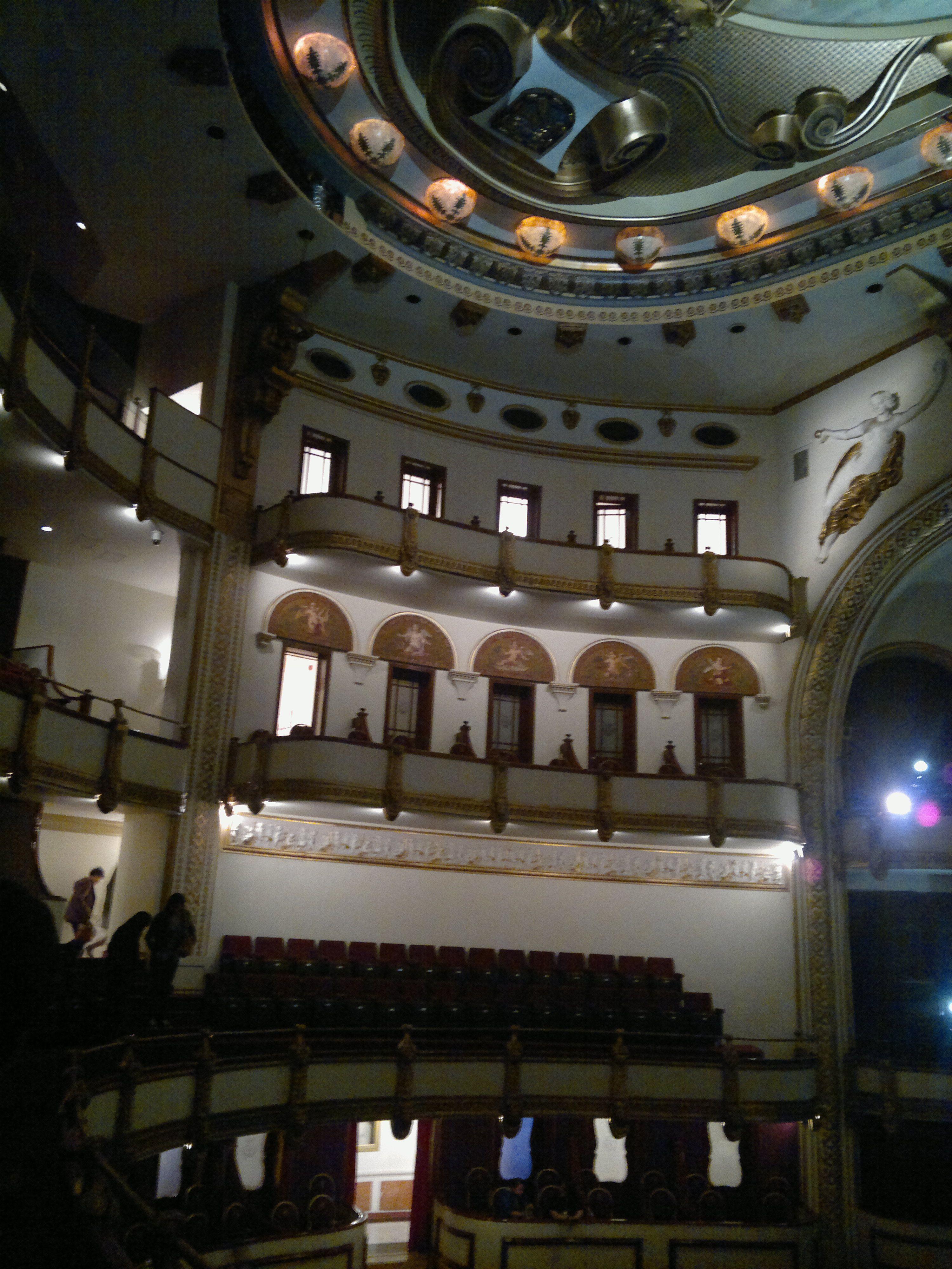 Palcos En El Teatro De La Ciudad Esperanza Iris Ciudad De M Xico  # Muebles Celso Ubeda
