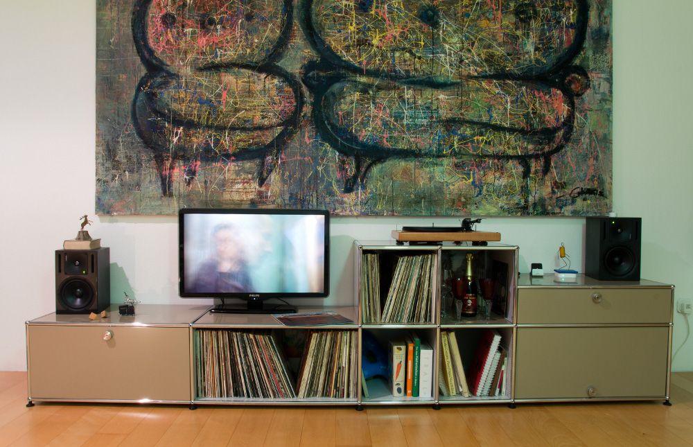 usm haller lowboard beige usm haller pinterest usm usm haller und beige. Black Bedroom Furniture Sets. Home Design Ideas