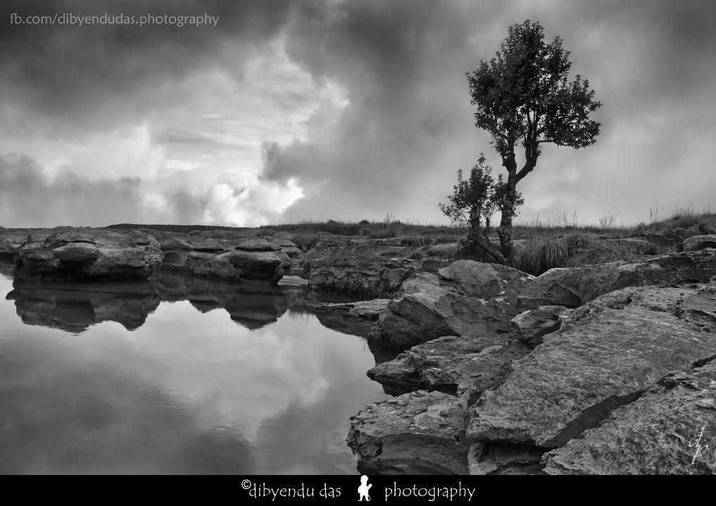 Dain Thlen, Cherrapunjee Outdoor, Clouds, Water