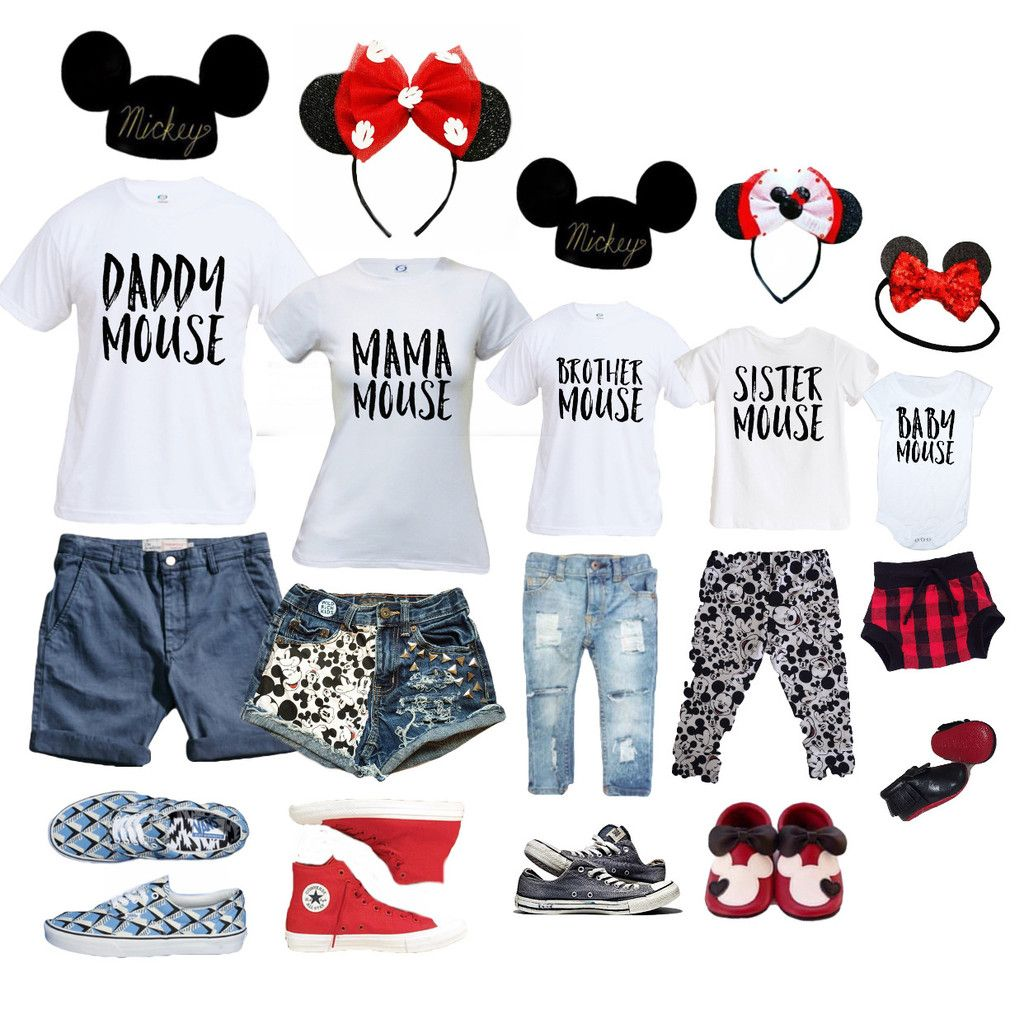 family mouse  family disney trip disney world outfits