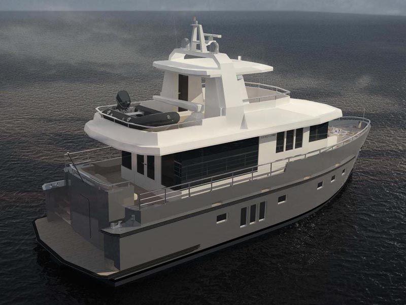Feature: Bering Yachts 18-meter Trawler - Bering Yachts