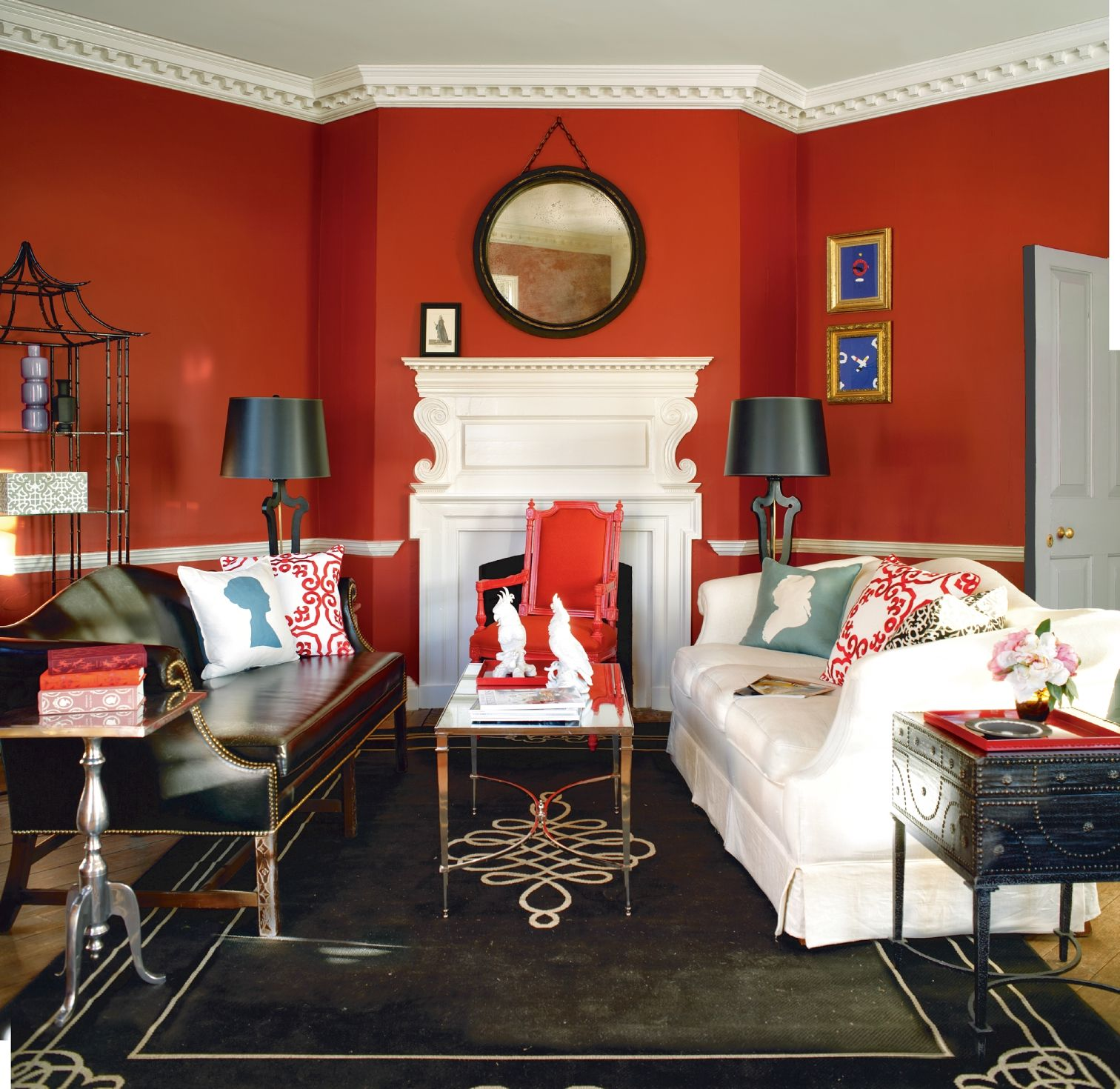 Benjamin Moore Colors For Your Living Room Decor: Benjamin Moore's Williamsburg Collection >> Walls: Aura