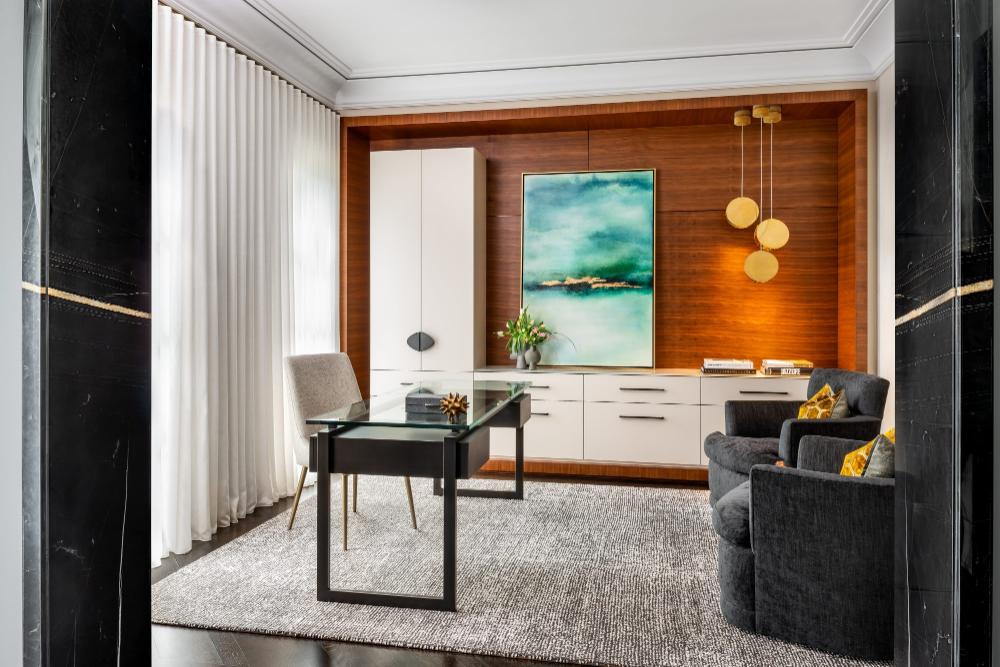 U31 | Sophisticated Abode  #interiordesign #interiorinspiration #homeoffice