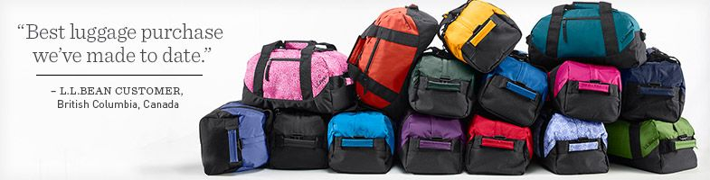 """""""Best luggage purchase we've made to date."""" – L.L.Bean customer, British Columbia, Canada."""