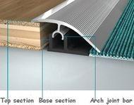 Threshold Transition Strips For Laminate Tile Carpet Wood Vinyl Transition Strips Flooring Basement Flooring Options