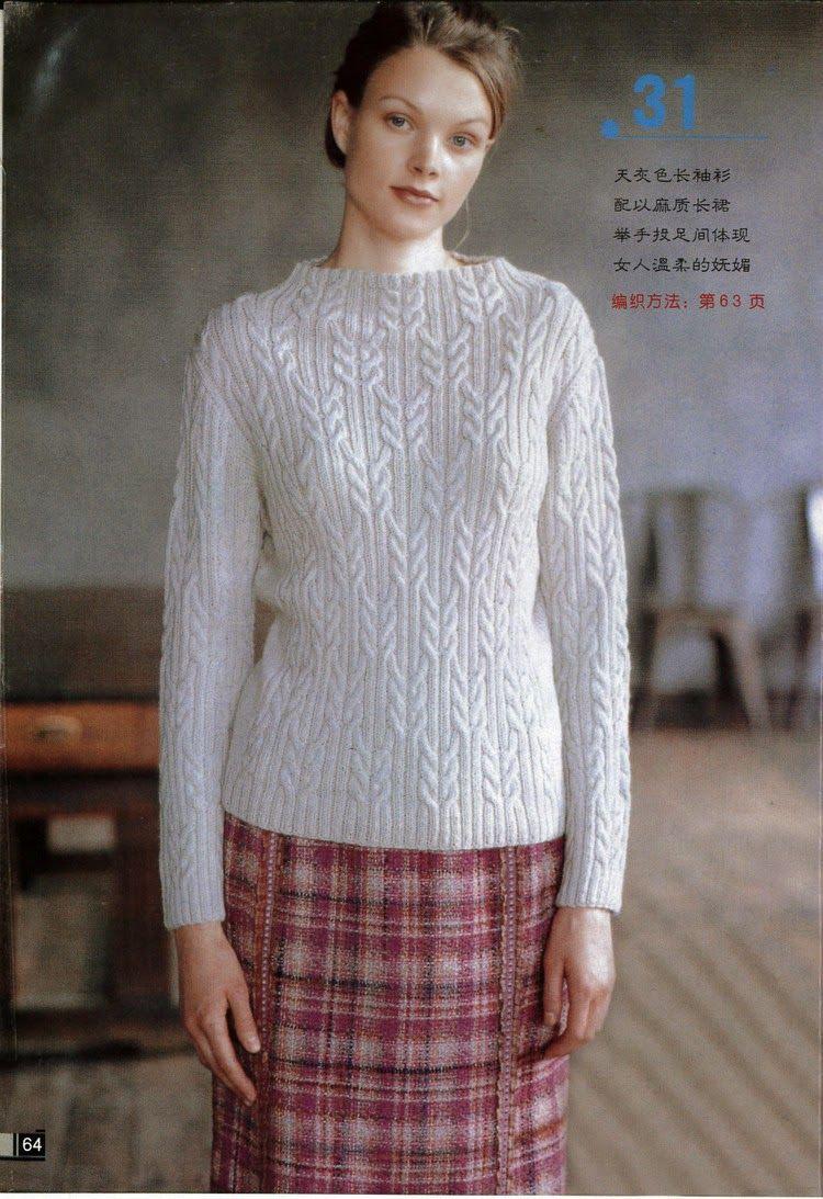 Схемы вязания кофт на пуговицах спицами для женщин