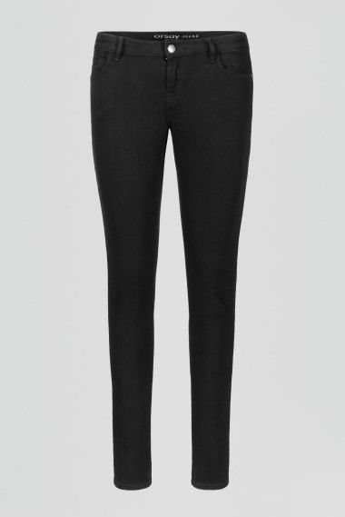 ORSAY JEANS | Skinny jeans with sequin tuxedo stripe detail #mywork #fashiondesigner
