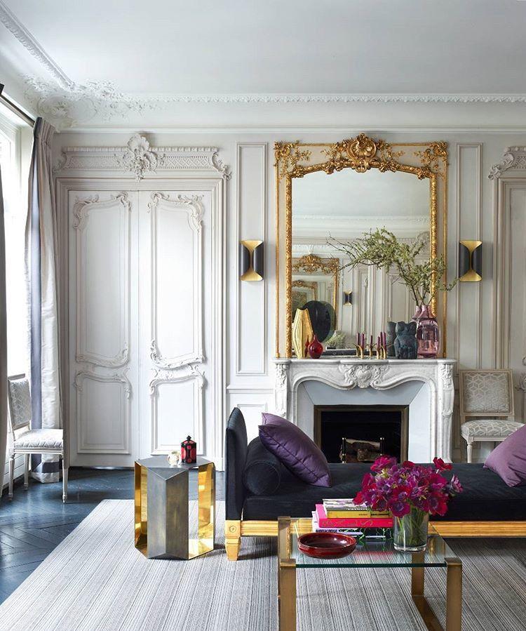 Idée Déco Salon Moderne Accents Style Baroque