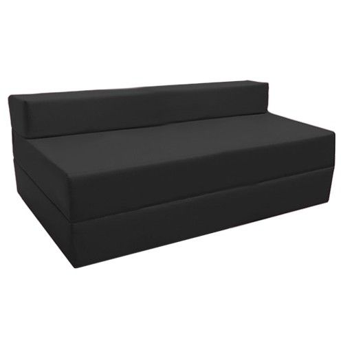 Water Resistant Double Fold Out Z Bed In 2020 Black Bedding