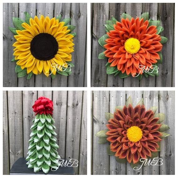 Facebook Group Tutorial Package, Christmas Tree Tutorial, Marigold Tutorial, Apple Blossom Tutorial, #sunflowerchristmastree