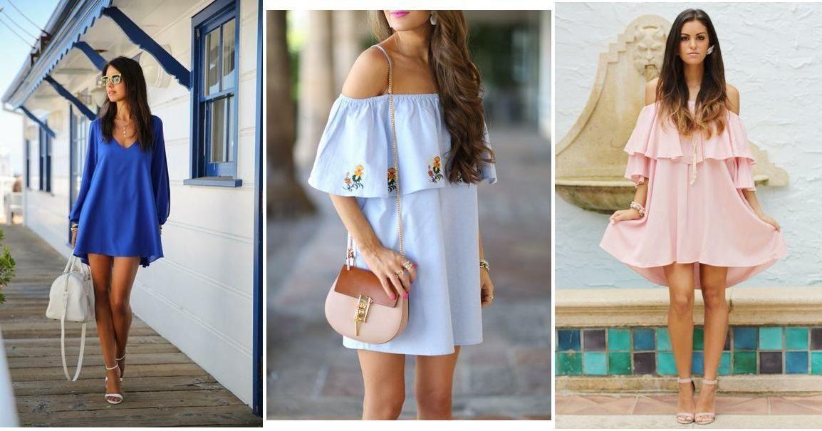 30 diseños de vestidos ligeros en colores alegres 5c64564b1299