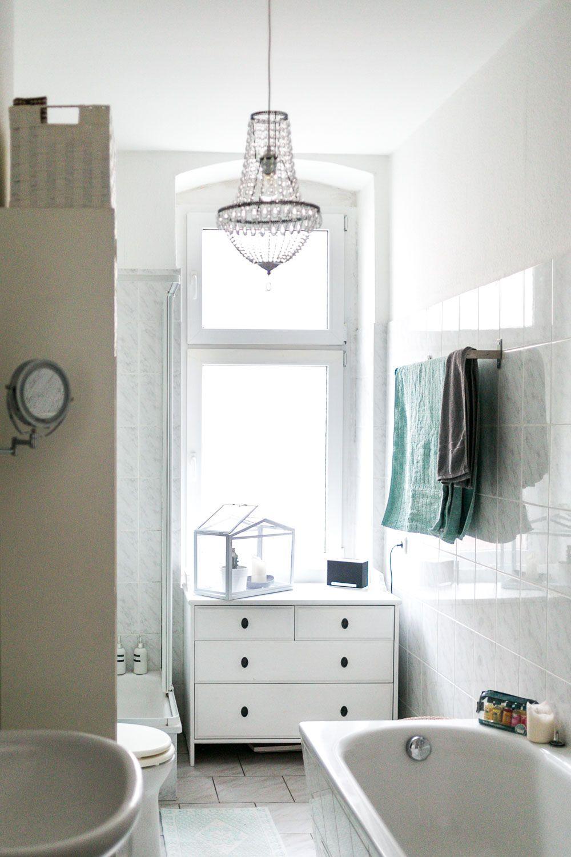 Stauraum für ein kleines Badezimmer – Wir zeigen euch unser neues Bad   Badezimmer klein ...