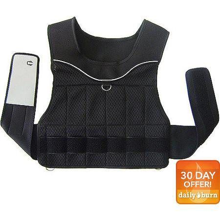 Gold's Gym 20Pound Adjustable Weighted Vest Sports