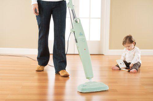 Amazon Bissell Steam Mop Hard Floor Cleaner Green Tea 1867 7