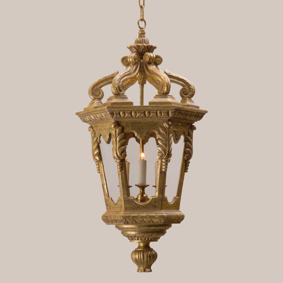 4026-S Small Venetian Hanging Lantern - Paul Ferrante