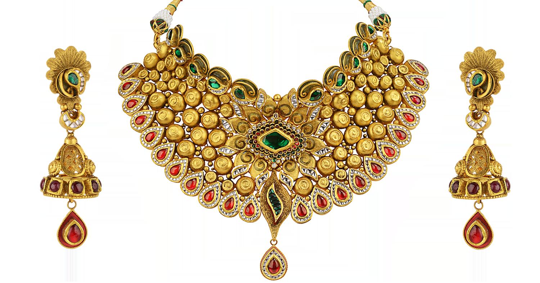 ORRA Gold Set Necklace | Gold Jewellery | Pinterest | Gold set ...