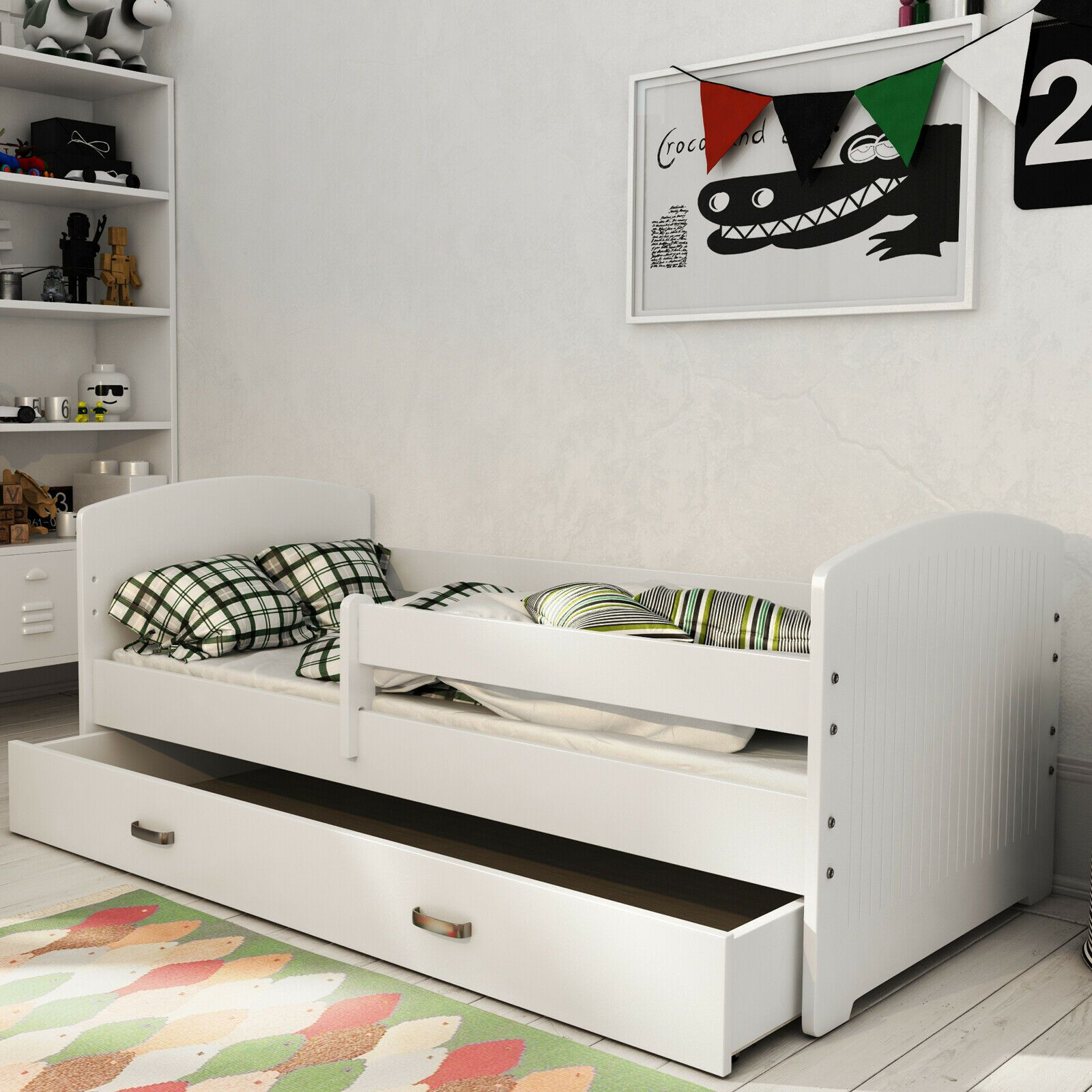 Details Zu Bett Juniorbett Jugendbett Kinderbett 160x80