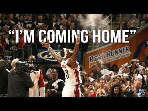 Youtube Lebron James Im Coming Home Coming Home