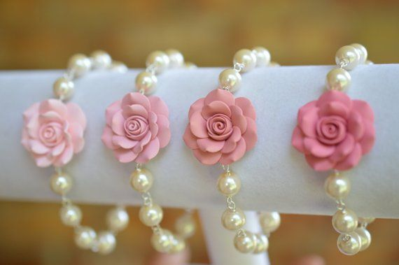 10 Pcs Rose Flowers Ice-cream Beads Pendant Chamr For DY Necklace Jewelry Making