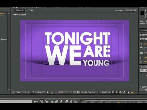 13 amazing special effects tutorials for after effects – filtergrade.