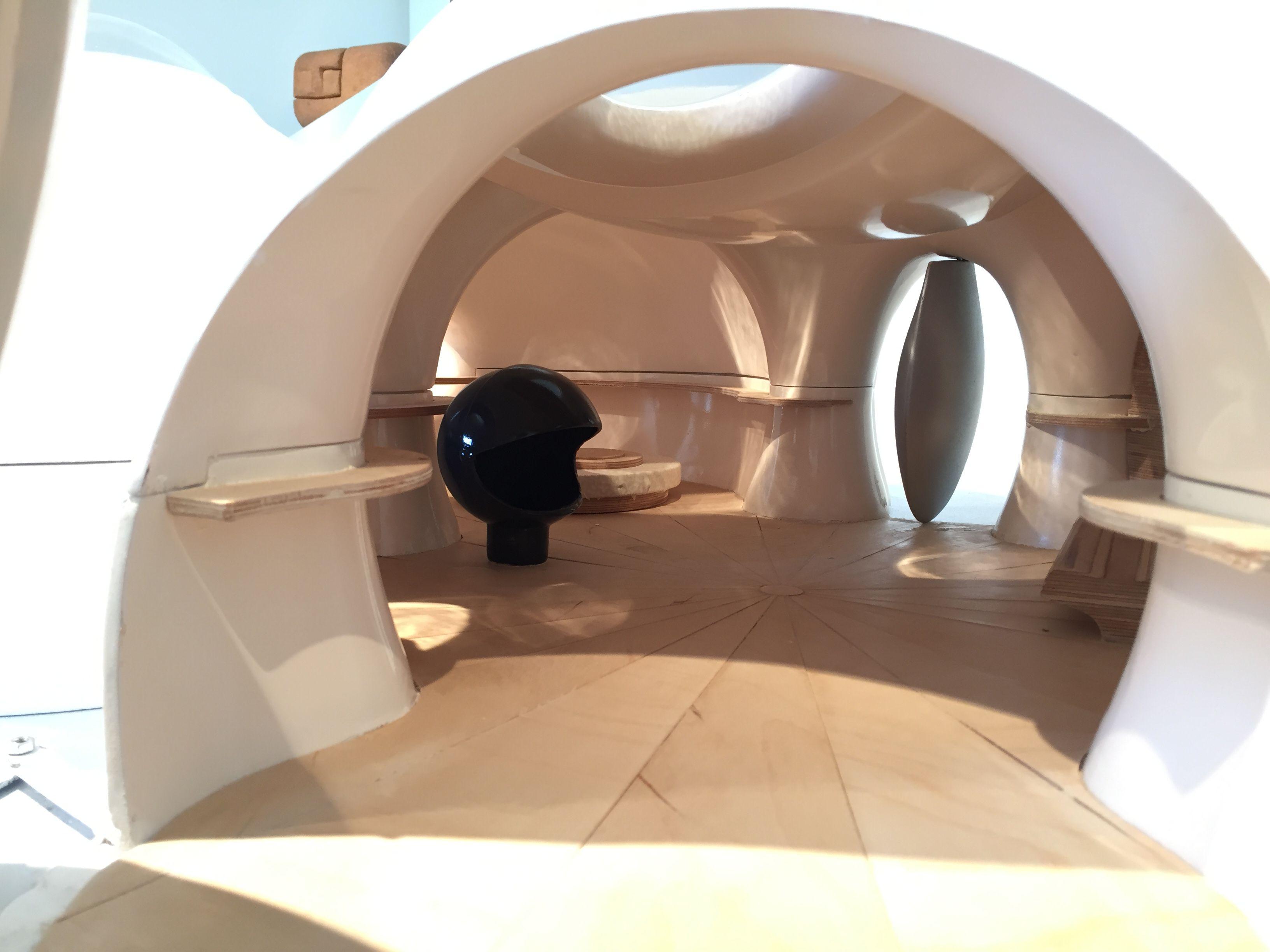 Antti lovag bubble house model inside model homes bubble house scale models bubbles