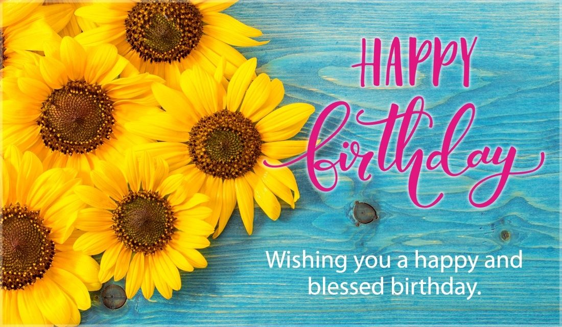 Happy Birthday Blessed And Happy Inspiration Pinterest Happy