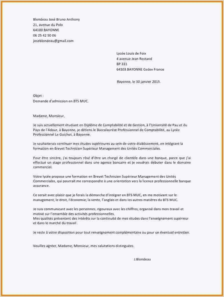 Lettre Motivation Bts Muc Alternance Unique Exemple Lettre In 2020 Functional Resume Resume Words Changing Jobs