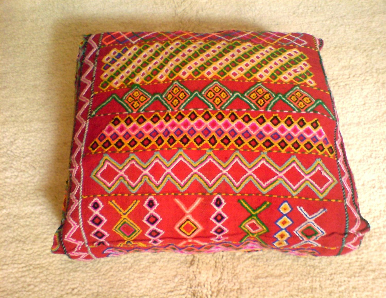 ramla pillow moroccan floor en hamra ourain pillows el cushion beni