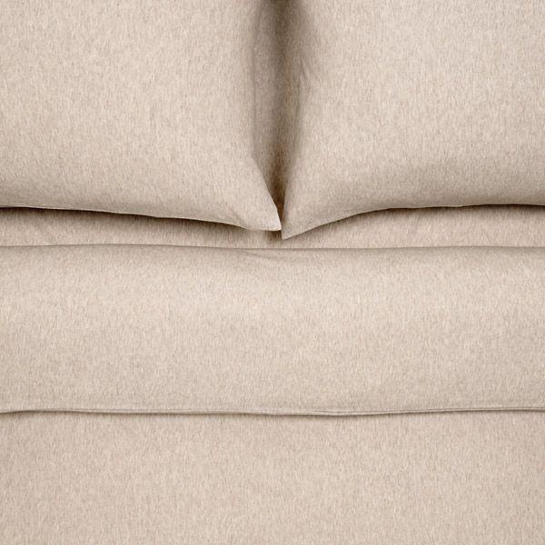 Jersey Bed Linen   Beige