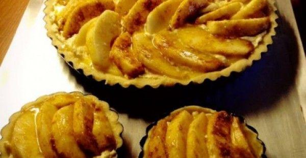 Τάρτα μήλου με κρέμα αμυγδάλου!