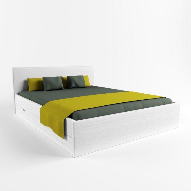 Bed City 3D model 3D Model  max  c4d  obj  3ds  fbx  lwo  stl