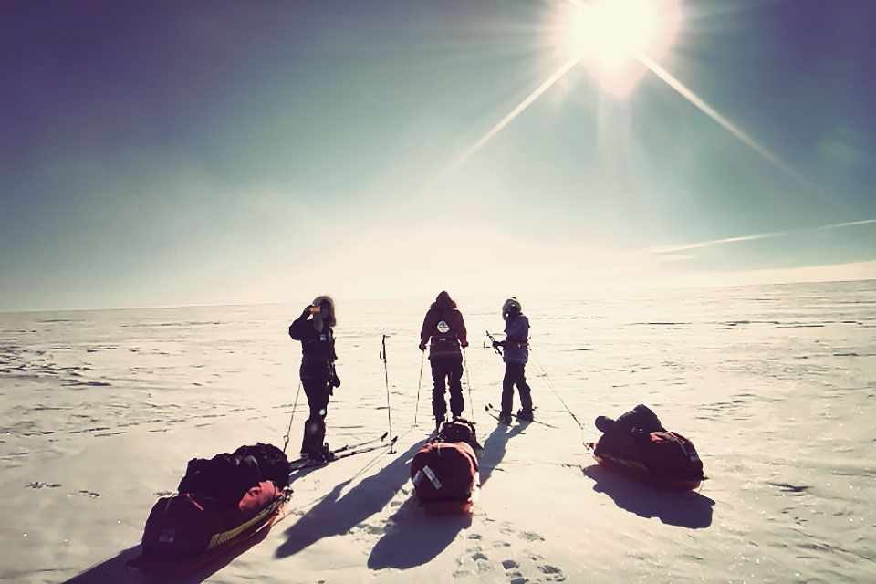 South Pole 20K Ski Expedition