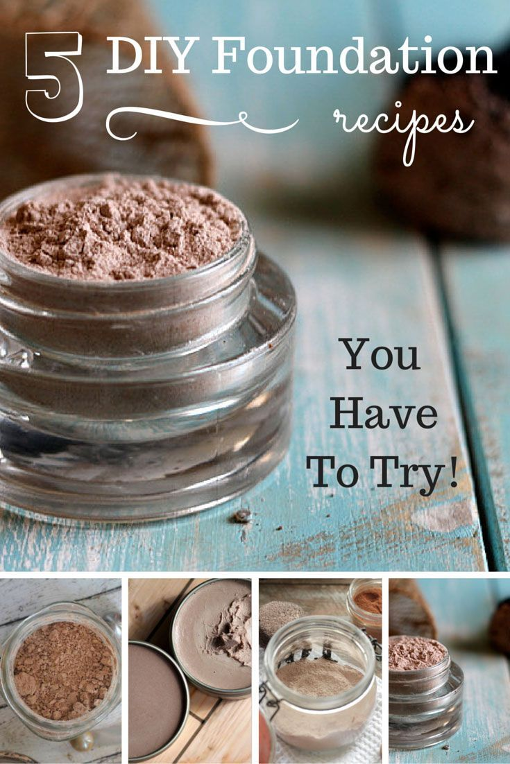 5 DIY Foundation Recipes You Have to Try! Diy foundation
