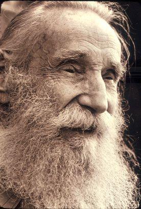 Bearded man, 1981 by Seattle Municipal Archives, #beard ...Old Man Face Beard