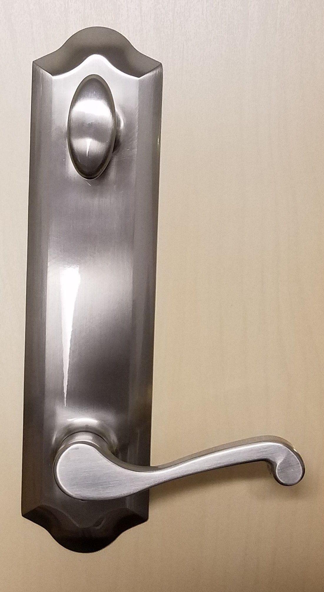 852 Handle Set 6 Center To Center Bore Hurd Handle Phillips Screwdriver Oil Rubbed Bronze Door Handles